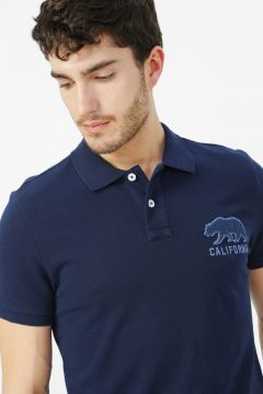 Aeropostale Lacivert Polo T-Shirt(113995314)