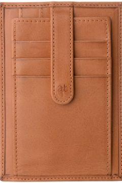 Portefeuille Antica Toscana Porte cartes de crédit en cuir Tuscany - Clemente - Miel(115445843)