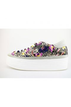 Chaussures 2 Stars sneakers multicolor textile daim AG259(88469510)