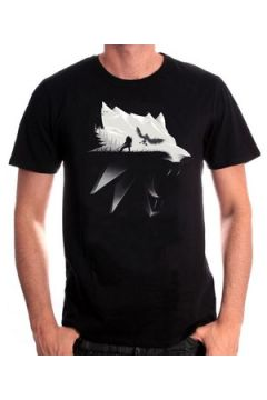 T-shirt Cotton Division T-shirt The Witcher - Wolf Silhouette(115562306)