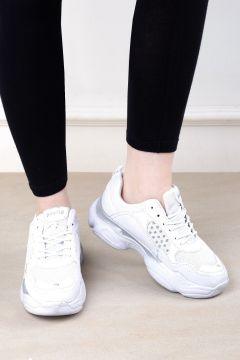 Eşle 20y Z 19044 Kadın Spor Ayakkabı Beyaz(110958486)