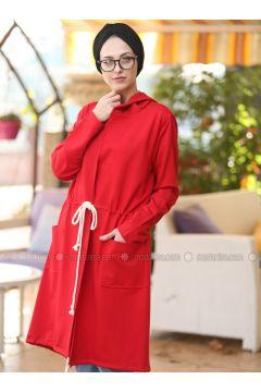 Red - Topcoat - Lysa Studio(110333552)