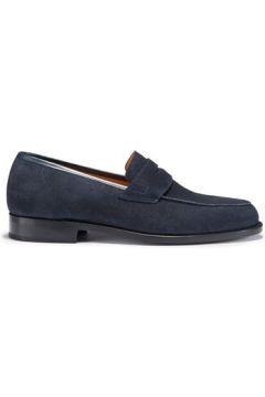Chaussures Hugs Co. Mocassin semelle en cuir gratté(115401829)