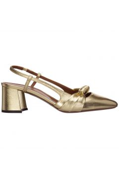 Women's leather pumps court shoes high heel(117039216)