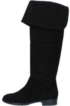 Bottes Del Gatto bottes noir daim AK937(115443131)