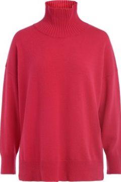 Pull Roberto Collina Pull avec col cheminée en laine de couleur fraise(115648625)