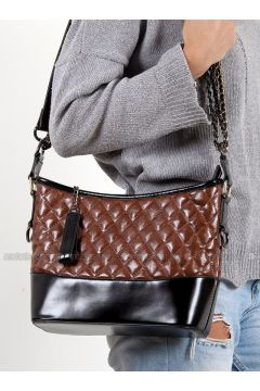Brown - Shoulder Bags - Efem(110340233)
