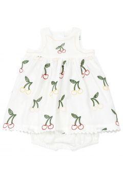 Kleid Pumphose aus Leinen und Baumwolle(113870152)