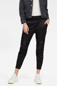 G-Star RAW Women Motac 3D Tapered Cropped Sweatpants Black(118179853)