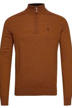 Merino John Zip Knitwear Turtlenecks Beige MORRIS(120674140)