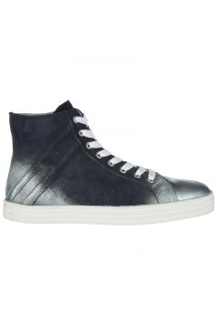 Women's shoes high top suede trainers sneakers r141(77307328)