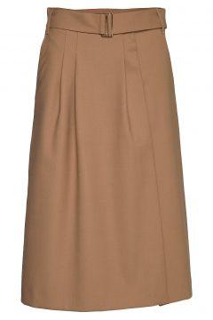 Hcw Chino Skirt Knielanges Kleid Beige HILFIGER COLLECTION(114163951)