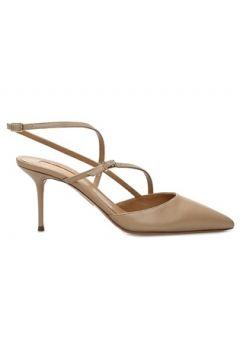 Aquazzura Kadın Carolyne Nude Deri Sandalet Pembe 38 EU(108873837)