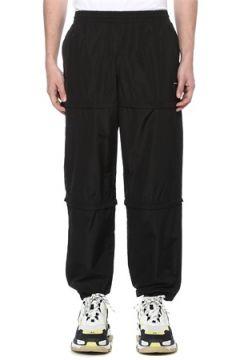 Balenciaga Erkek Siyah Paça Detaylı Eşofman Altı S EU(116222374)