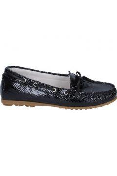 Chaussures K852 Son mocassins noir cuir verni BT972(115442984)