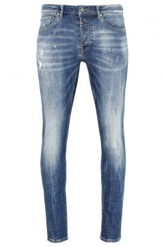 tigha Damen Slim Fit Jeans Morty 9054 stone wash blau (mid blue)(113747471)