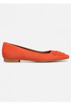 SALE -30 Made by SARENZA - UrbAfrican Ballerines #4 - SALE Ballerinas für Damen / orange(111578368)