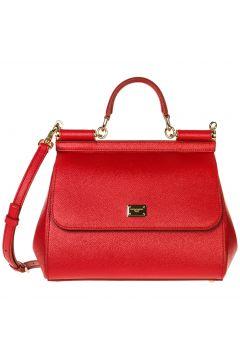 Women's leather handbag shopping bag purse sicily(107964075)