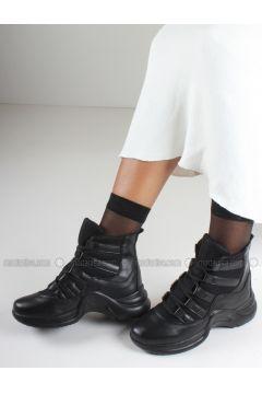 Black - Boot - Boots - İnan Ayakkabı(110336845)