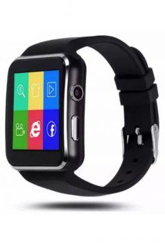 Smart Watchx6 Sim Kartlı Akıllı Saat Siyah(119982153)