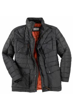 Camel Active: Wattierte Funktionsjacke mit vielen Taschen, 66, Grau(121716402)
