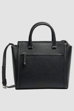 Stradivarius Tote bag zippé FEMME Noir 103(117794819)