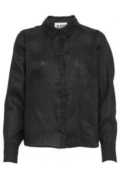 Linneda Shirt Langärmliges Hemd Schwarz JUST FEMALE(108839079)
