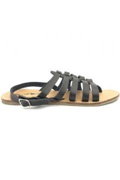 Sandales Nice Shoes Sandales à lanières noires(127979787)