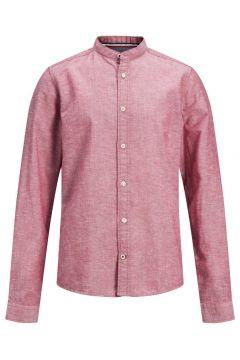JACK & JONES Maokraag Jongens Overhemd Heren Rood(108405019)