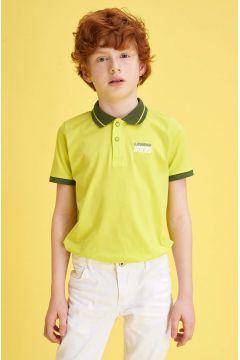 DeFacto Erkek Çocuk Pike Polo Yaka Kısa Kollu T-shirt(119061250)