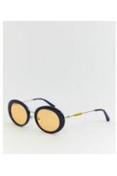 Calvin Klein Jeans - CKJ18701S - Sonnenbrille mit ovalem Design - Navy(94965790)