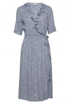 Henny Dress Kleid Knielang Blau TWIST & TANGO(114164546)