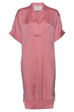 Olena Silk Dress Kurzes Kleid Pink NOTES DU NORD(114164268)