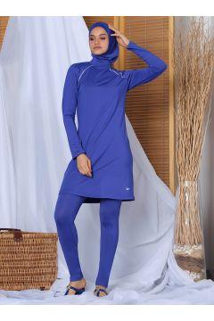 Maillot De Bain Grande Taille Alfasa Bleu Marine(119067390)