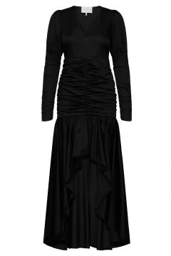 Oister Dress Kleid Knielang Schwarz NOTES DU NORD(114164269)