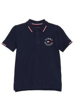 Polo enfant Tommy Hilfiger Kids BADGE POLO(115509834)