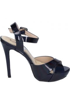 Chaussures escarpins Ikaros sandales bleu cuir verni BT756(98485044)