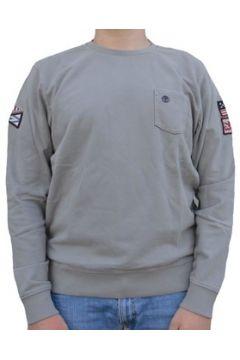 Sweat-shirt Timberland EASTHAM BADGE CREW FELPA GRIGIA(115476454)