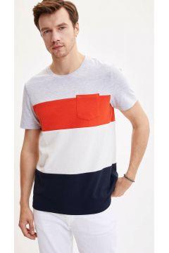 DeFacto Erkek Çizgili T-Shirt(108640111)