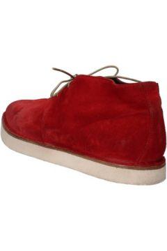 Boots Moma bottines rouge daim AD26(115393670)