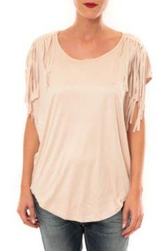 T-shirt Nina Rocca Top C1844 beige(88438506)