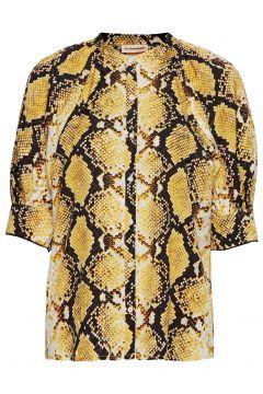 Vanessa Blouses Short-sleeved Gelb CUSTOMMADE(114152496)