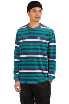 HUF Unveil Stripe Velour Sweater groen(102745944)