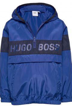 Hooded Windbreaker Shelljacke Dünne Jacke Blau BOSS(104956135)
