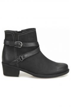 Miss F DW18056 Siyah Kadın Topuklu Bot(116809728)