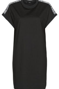 Robe Karl Lagerfeld MERCERIZED JERSEY DRESS W/LOGO(127960291)