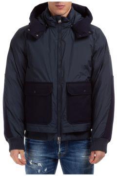 Men's outerwear down jacket blouson hood(118300617)