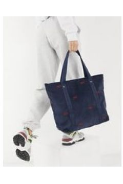 Tommy Jeans - Borsa shopping in velluto blu navy(124811356)