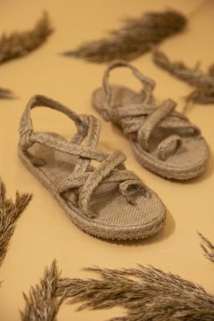 STRASWANS Kadın Hasır Parmak Arası Sandalet(118648329)
