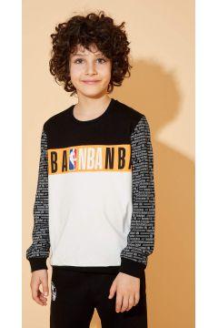 DeFacto Erkek Çocuk Slim Fit NBA Lisanslı Sweatshirt(119060701)